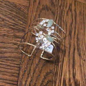 Anthropologie jeweled cuff